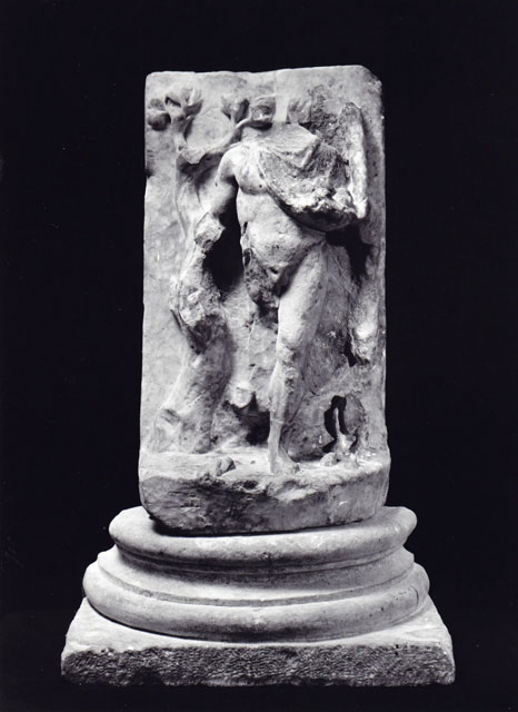 Dionysus - White marble - Height 32 cm.