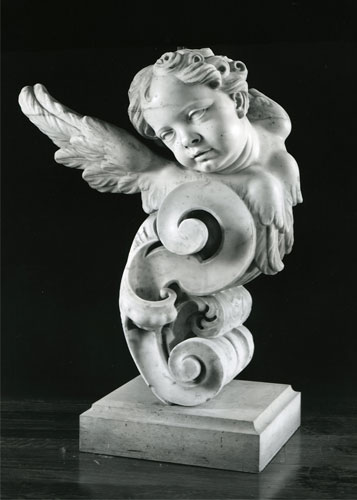Giuseppe Sanmartino - (1720-1793) - Two Angels for a Main Altair - Marble