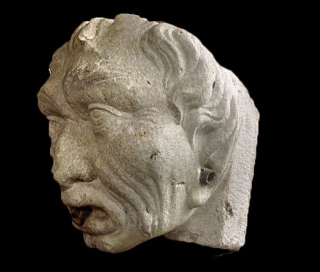 Italian Workshop - Gargoyle - Marble