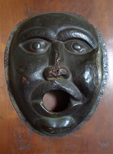 Italian Workshop - 'Parade Mask' - Bronze