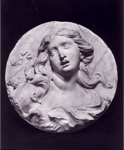 Pierre Puget - (1651-1707) - Cleopatra - White marble