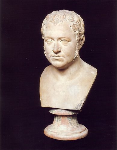 Pompeo Marchesi - (1789-1858) - Portrait of Stendhal - Terracotta