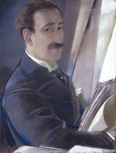 Sergei Vasil'evich Chekhonin - Portrait of an Artist