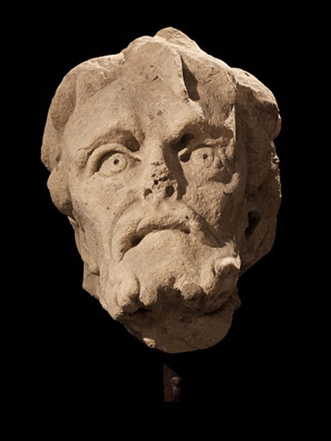 Tuscan Workshop - 14th century - An Apostle - Marble