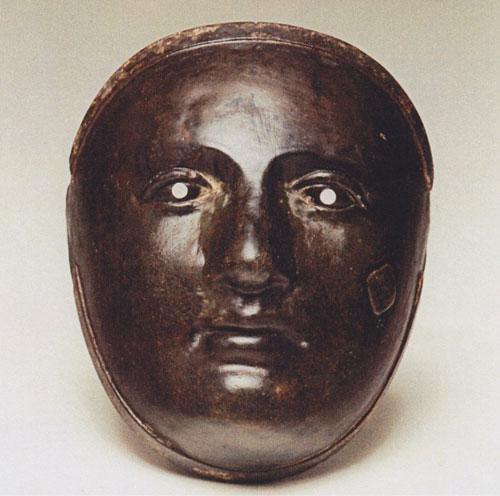 Venetian Workshop - 'Carnival Mask' - Bronzo
