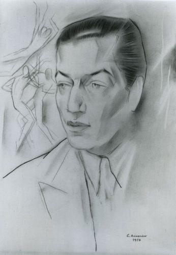 Yury Pavlovich Annenkov - Portrait of Serge Lifar (1905-1986)