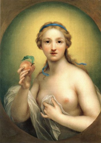 ANTON RAPHAEL MENGS (Aussig 1728 - Rome 1779) Allegory of Truth
